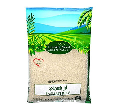 Green valley basmati rice 5kg