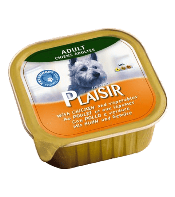 Plaisir Chicken Vegetables 300g x1