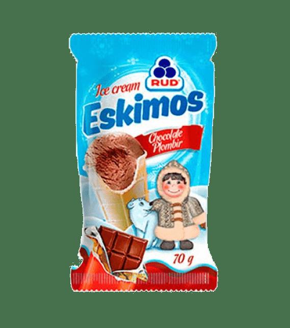 ESKIMOS ice cream chocolate plombir 80g/30