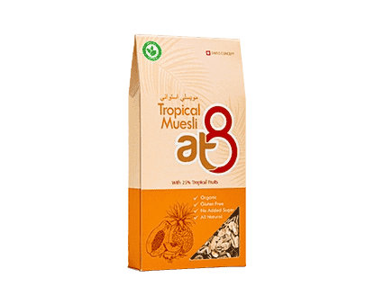 At8 Tropical Muesli 55g