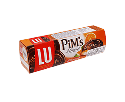 LU PIMS orange soft biscuits 150G