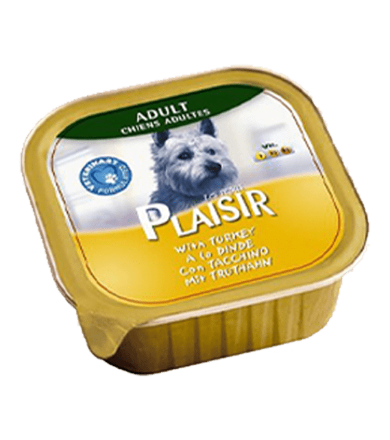 Plaisir Dog Food with Turkey 150g x1