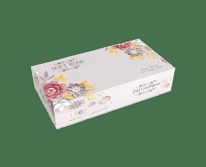 Soft Rose Tissue Box 150 Sheets 5*1