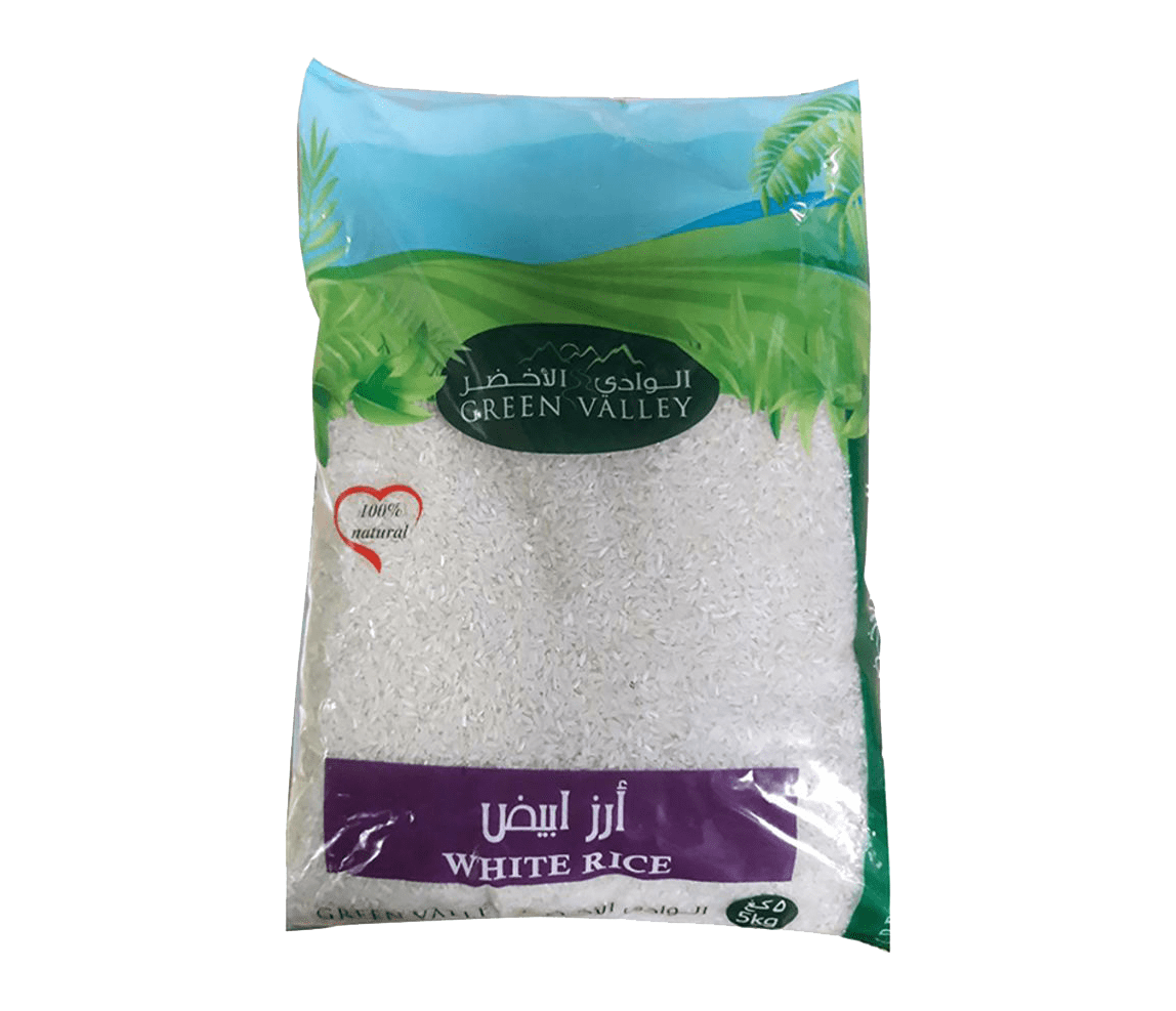 Green Valley Jasmine Rice 5kg