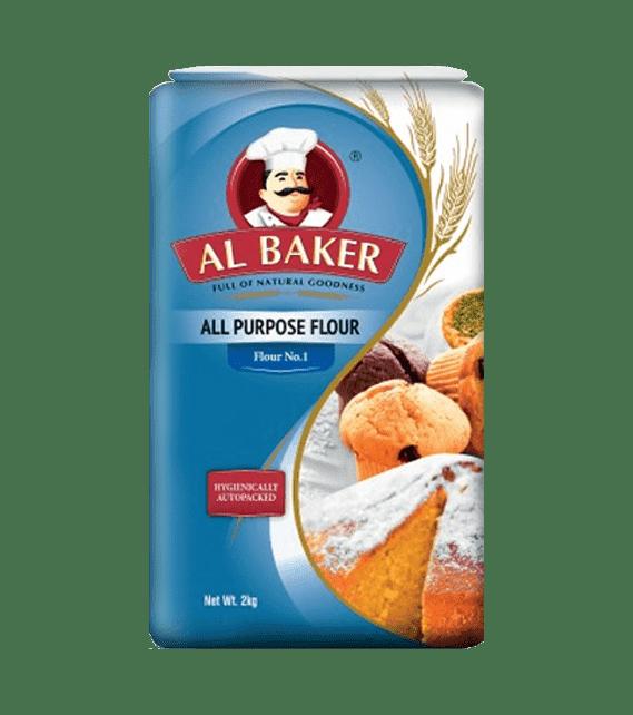 Al Baker All Purpose Flour 2kg