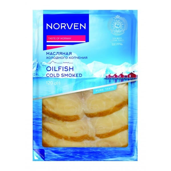 Smoked Butterfish slices 120g