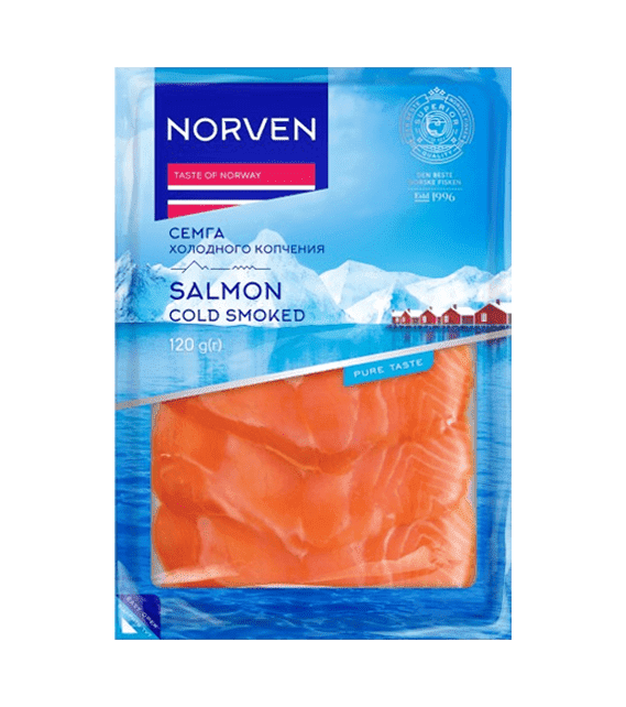 Smoked salmon slices 120g