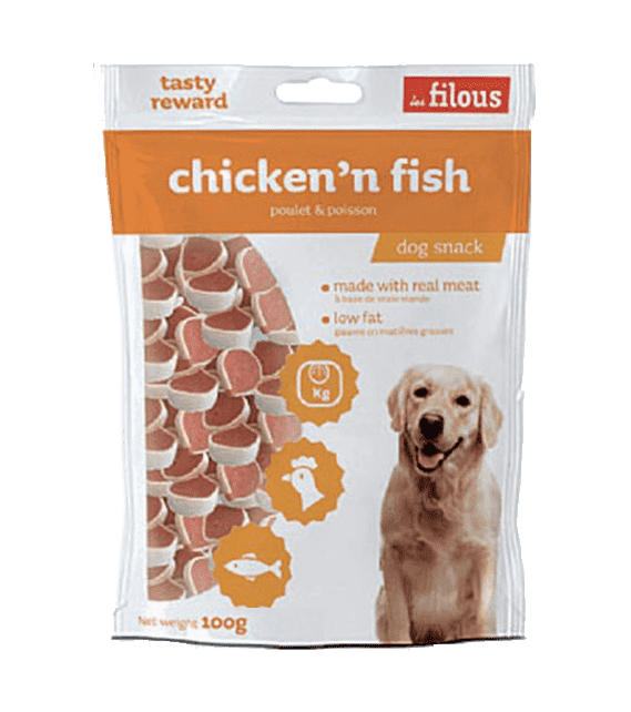 Les Filous Chicken and Fish 100g x1